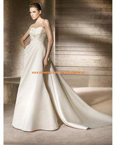 Sexy designe Brautkleider aus Satin im Meerjungfrauenstil online 2013