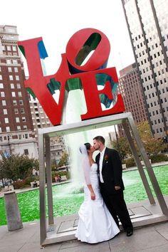 Love park wedding wedding images wedding pictures philadelphia philly love park