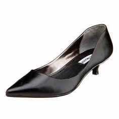 Steve Madden kitten heels Gently used kitten heels with pointy toe, goes well with pretty much anything. Will post pics of actual item soon. These shoes will come with an extra pair of heel taps. Please ask all questions prior to purchase. Make an offer! Steve Madden Shoes Heels