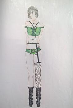 Croqui lingerie