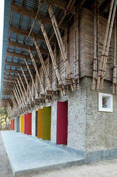 METI SCHOOL HANDMADE  RUDRAPUR / BANGLADESH / by Ziegert | Roswag | Seiler Architekten Ingenieure / Anna Heringer #architecture #sustainability #green