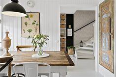 comedor estilo nordico lampara industrial muebles vintage estilo nordico laminas botanicas silla tolix interiorismo barcelona alquimia deco