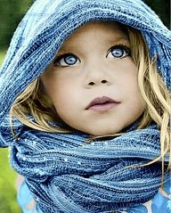 .Blue~ what a beautiful child