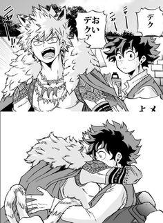 """Boku no Hero Academia    Katsuki Bakugou, Midoriya Izuku, """"KatsuDeku"""" #mha"""