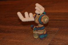 Crochet Amigurumi Moose Amigurumi, gehäkelter Elch