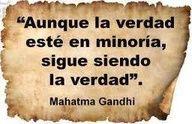 La verdad, de Gandhi