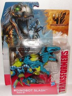 TRANSFORMERS AGE OF EXTINCTION DINOBOT SLASH ONE-STEP CHANGER - ACTION FIGURES in Toys & Games, Action Figures, Transformers & Robots | eBay