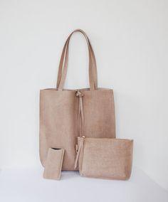 Sholder Bag Tote Bag Lether Bag Handmade by ArwenDesignStudio