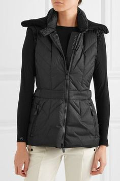 Moncler Grenoble - Ceuze Quilted Down Gilet - Black -