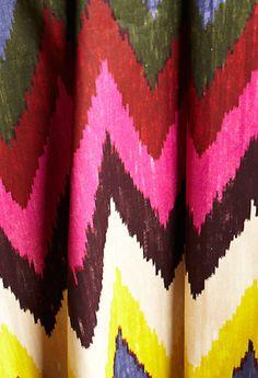 rough chevron colorful fabric #chevron #colorful #fabric #design