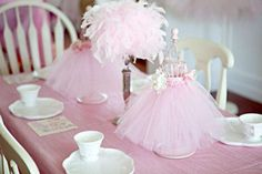 Vintage Ballerina Birthday Party Ideas | Photo 1 of 25 | Catch My Party