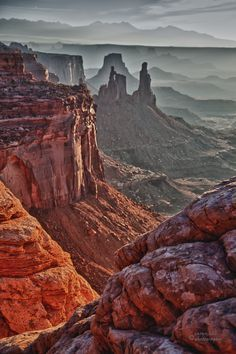 """""""Washing Woman"""" as seen from the south side of Mesa Arch, Canyonlands National Park, Utah. Landscape Photos, Landscape Photography, Nature Photography, Woman Photography, Parc National, National Parks, Places To Travel, Places To See, Wow Photo"""