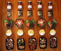 Vegetarian Meal Prep (just in case I ever become organised and develop willpower)