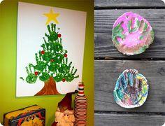 Wannabe Green: Christmas Art ~ Kids Craft