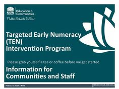 What is TEN?. Overview of TEN TEN – Targeted Early Numeracy Intervention program to support K-2 TEN grew out of the Best Start Assessment program Short, - ppt download