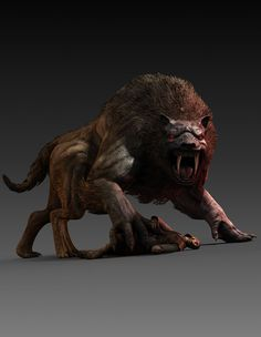 Great Warg - Castlevania: Lords of Shadow
