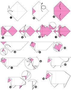 Origami juhok