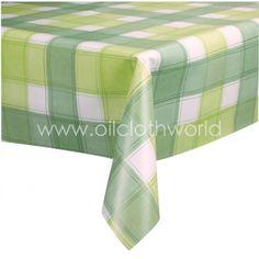 Vinyl+Tablecloths   Home / Vinyl Tablecloths / Checkers Green Vinyl  Tablecloth