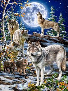 """""""Há vários lobos dentro de mim, mas todos eles uivam para a mesma lua."""""""