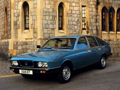 1976–80 Lancia Gamma Berlina UK-spec (830)