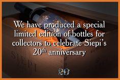 Celebriamo il 20° anniversario di Siepi con un'edizione speciale in un numero limitato di bottiglie da collezione. @marchesimazzei #mazzei #fonterutoli  #tuscany #wine