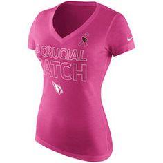 Arizona Cardinals Nike Women's Take it Long Long Sleeve T-Shirt ...