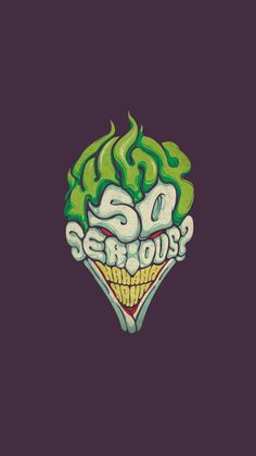 Joker - Why So Serious iPhone 6 / 6 Plus wallpaper