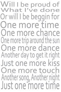 One More Time Lyrics Gary Allan