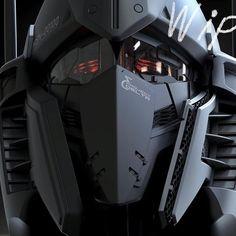 of Hyakushiki head Artist : ____________________________________ gundam gunplabuilder geek anime manga robot mecha toys shutupandtakemymoney ガンダム 건담 cosplay instagundams toystagram Gunpla plamo plasticmodel Arte Gundam, Gundam Art, Gundam Head, Robot Concept Art, Armor Concept, Gundam Wallpapers, Animes Wallpapers, Futuristic Armour, Sci Fi Armor