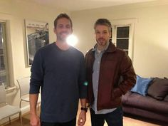 Paul Walker and Paul Vincent (Vin Diesels twin brother)