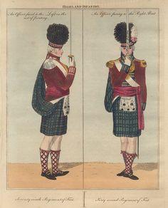 Regiment of Foot Tartan, Tweed, Napoleonic Wars, Picts, Scottish Highlands, British Army, Reggio, Great Britain, Egypt