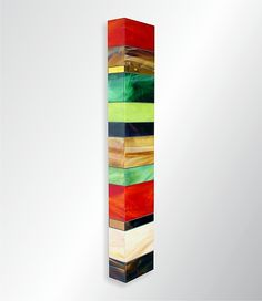 Earth Totem II by Gerald Davidson: Art Glass Wall Art available at www.artfulhome.com