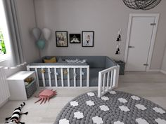Montessori Bett Efes Montessori - Welcome Baby Bedroom, Baby Boy Rooms, Baby Room Decor, Nursery Room, Kids Bedroom, Room Baby, Girl Nursery, Study Room Decor, Toddler Floor Bed