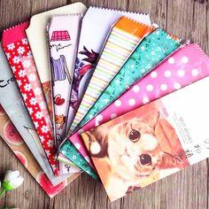 5pcs/lot Vintage Flower cartoon Animal paper envelopes red envelope stationery supplier