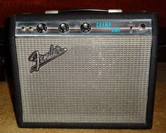 All original 1969 Fender Champ purchased from the original owner. He still had the receipt from the Fender factory.