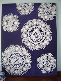 Doilies were prized possessions in my mothers home. She is from the Azores and women there would (pr-1960s) make these by hand and sell the...
