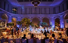 Brooklyn Museum for a spectacular dinner and lots of dancing! Event by FÊTE
