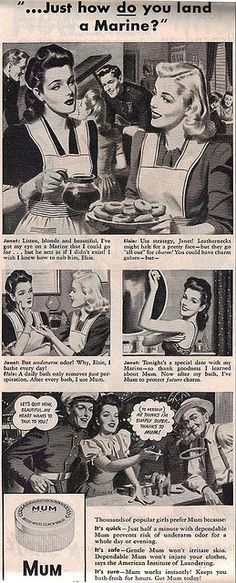 Mum Ad from Ladies Home Journal - Aug 1944