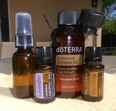 Wild Orange and Lavender Body Spray. ~ 1oz spray bottle of FCO, 10 drops Wild Orange, 5 Lavender