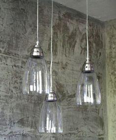 3er set h nge lampen vintage loftlampe fabrik deckenlampe. Black Bedroom Furniture Sets. Home Design Ideas
