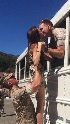 Teamwork! #MilitaryFamilyLovers amazing ☺️