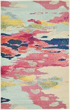 Unique Loom 3125415 Area Rug, 3 x 5, Pink Unique Loom https://www.amazon.com/dp/B00YNVIJZU/ref=cm_sw_r_pi_awdb_x_ADw1zbQCGVH27