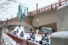 Urban Snowmobiling With Levi LaVallee – SnoX365.com