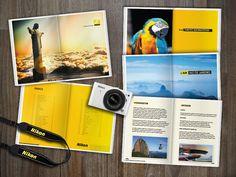Guia de viagens desenvolvido para a Nikon pela  Agência de publicidade Amarelo Manga