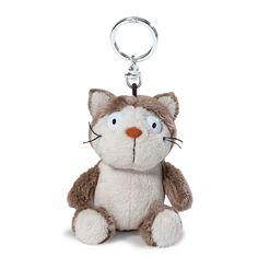 Schlüsselanhänger Comic Cats Katze Lazy