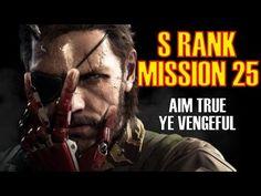 Metal Gear Solid 5 The Phantom Pain Mission 25 S Rank No Kills Perfect S...