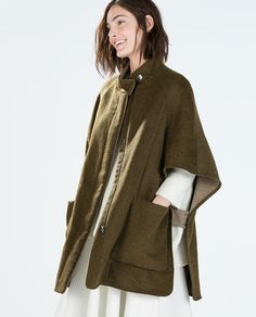ZARA - WOMAN - DOUBLE-SIDED CAPE
