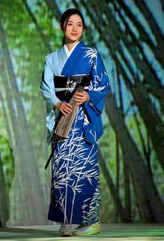 #Japan #kimono  / Satomi Ishihara(石原さとみ)
