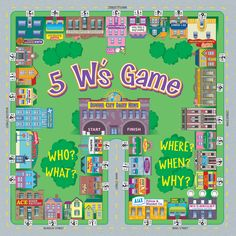 5 W's game