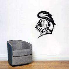 Knight Mascot Printed Wall Decals, Stickers